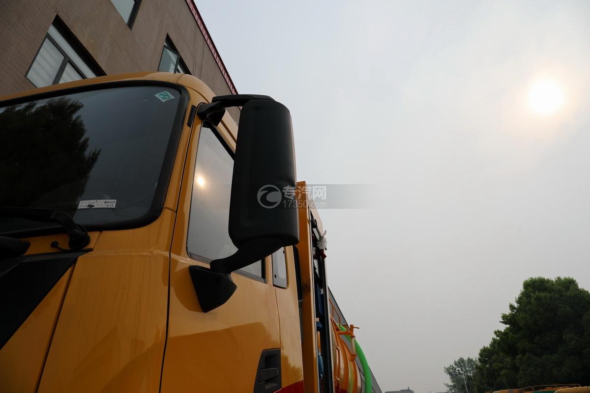 东风天龙KL后双桥国六17.8方清洗吸污车后视镜