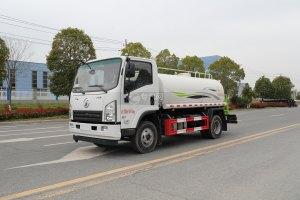 陕汽轩德X9国六5方绿化喷洒车图片