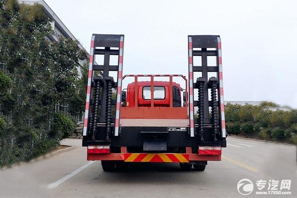 奥驰V6排半5.1米轴距国六平板运输车