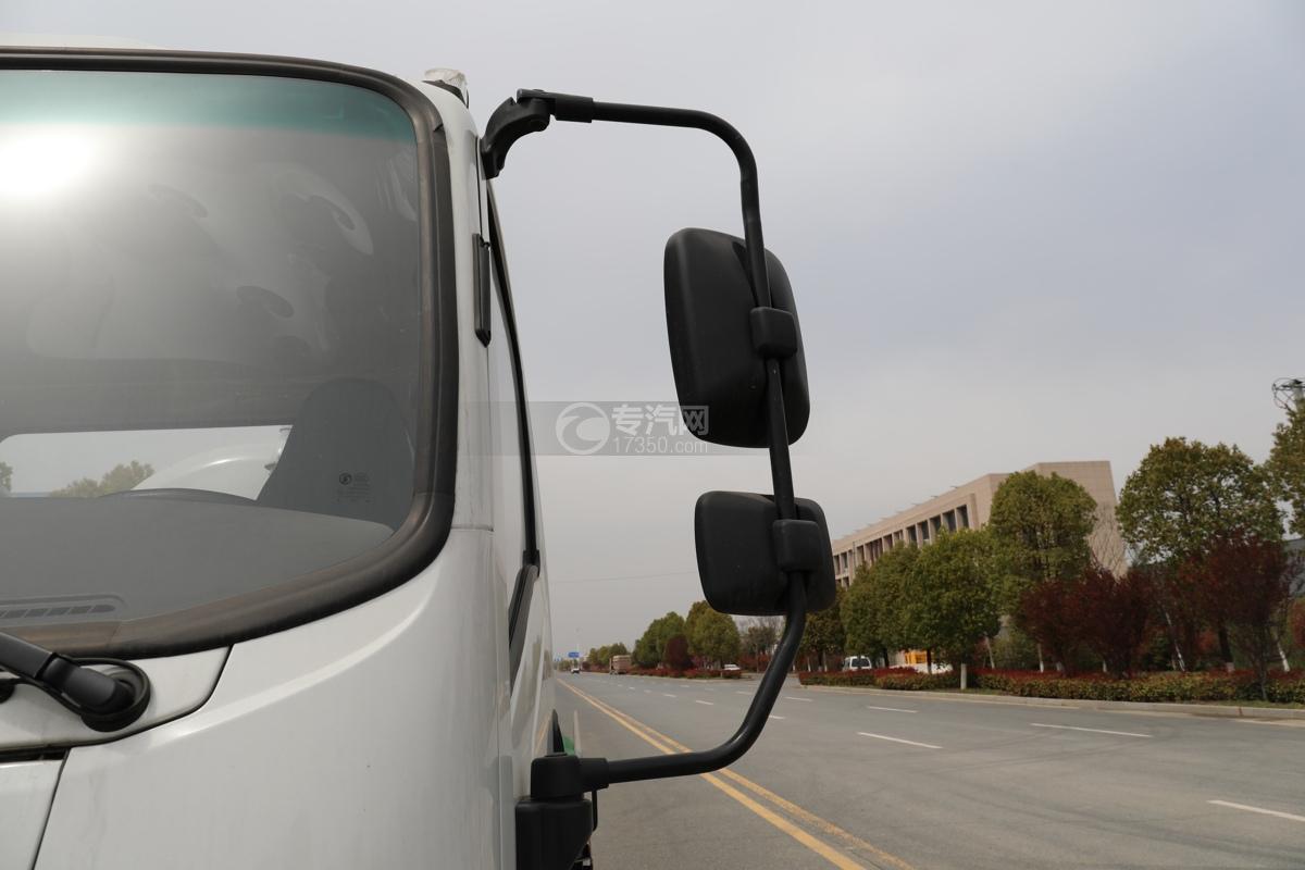 陕汽轩德X9国六5方绿化喷洒车左后视镜