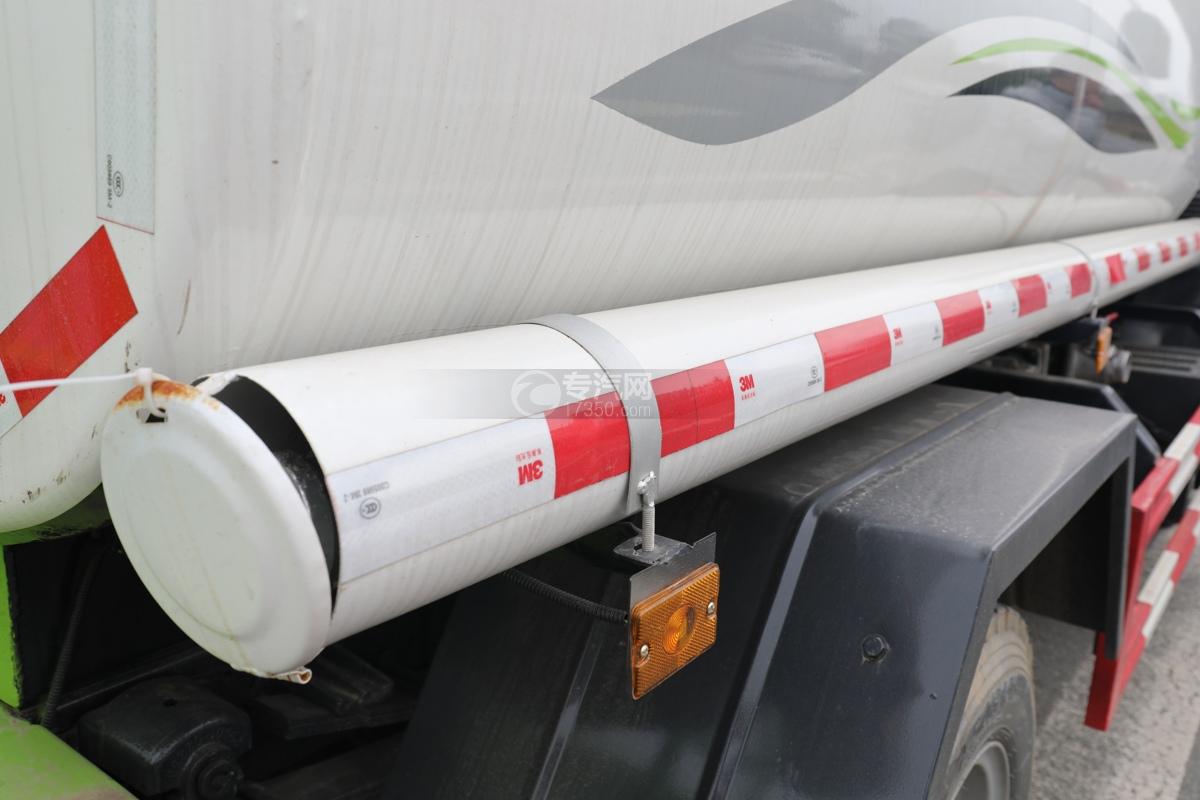 陕汽轩德X9国六5方绿化喷洒车炮筒