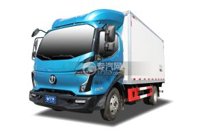 飞碟W5国六蓝牌4.085米冷藏车
