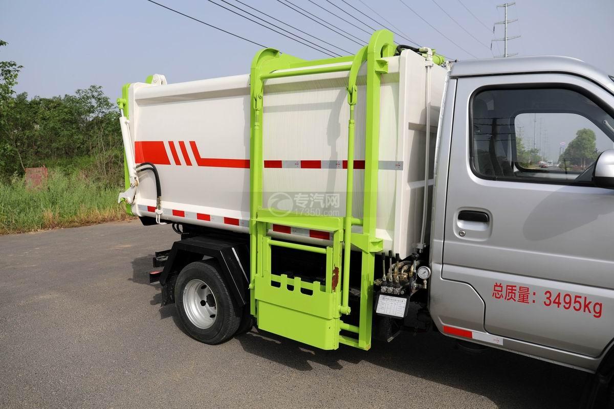 开瑞国六自装卸式垃圾车上装箱体
