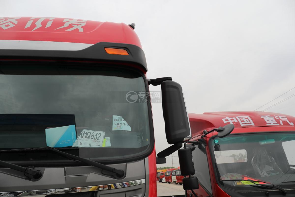 江淮格尔发A5X国五6.8米冷藏车左后视镜
