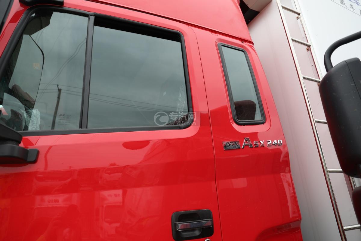 江淮格尔发A5X国五6.8米冷藏车门窗