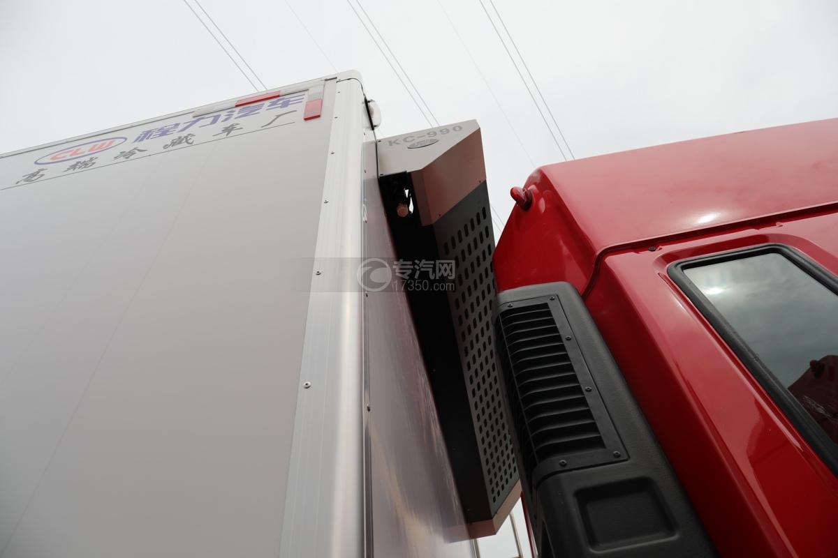 江淮格尔发A5X国五6.8米冷藏车冷藏机组
