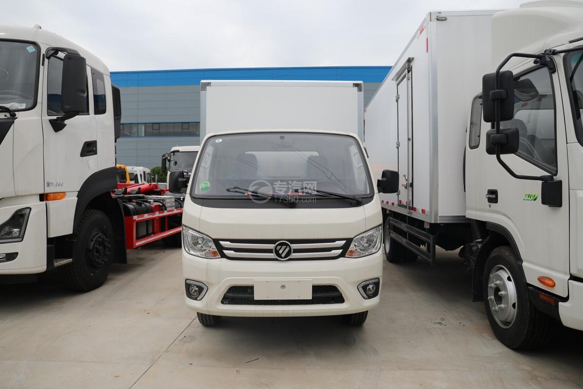 福田祥菱M2国六3.7米冷藏车车前图