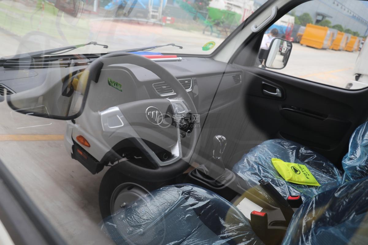 福田祥菱M2国六3.7米冷藏车方向盘
