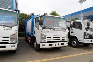 慶鈴五十鈴KV100國六壓縮式垃圾車圖片