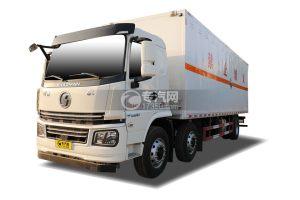 陜汽軒德翼6小三軸國六8.6米腐蝕性物品廂式運輸車