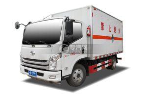 躍進超運C500國六4.1米雜項危險物品廂式運輸車