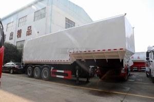13米半挂散装饲料运输车图片