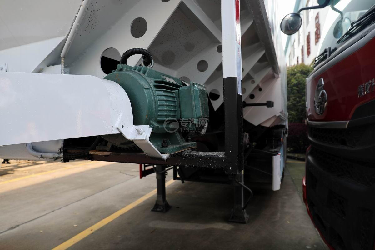 13米半挂散装饲料运输车电机