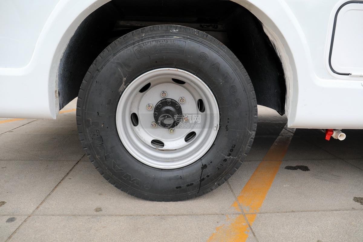 跃进快运H500国六C型房车轮胎
