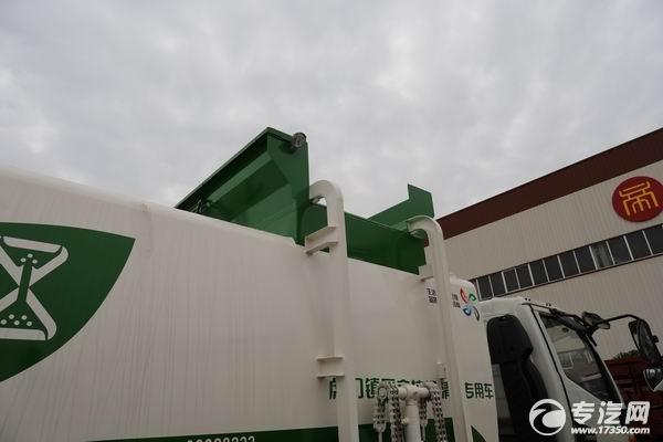江淮骏铃V6国六餐厨式垃圾车