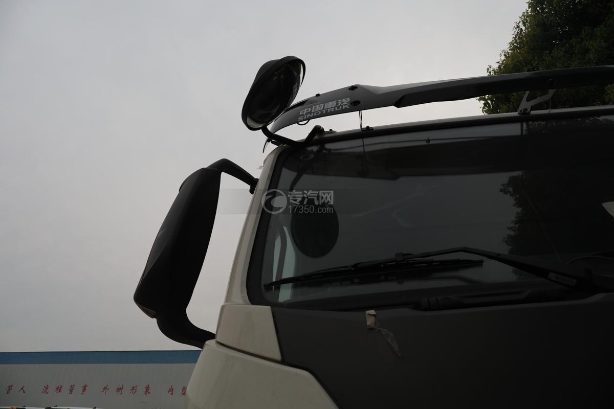 重汽豪瀚N5W國六11.35方灑水車右后視鏡
