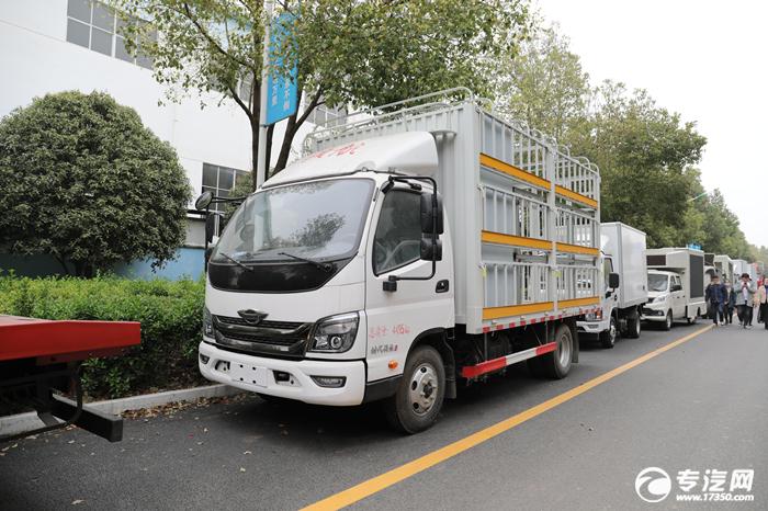 福田时代领航M3国六养蜂车评测