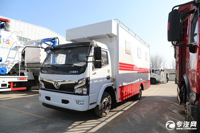 东风福瑞卡F7国六移动餐车评测