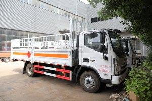 福田奥铃CTS国六5.15米气瓶运输车(仓栏式)图片
