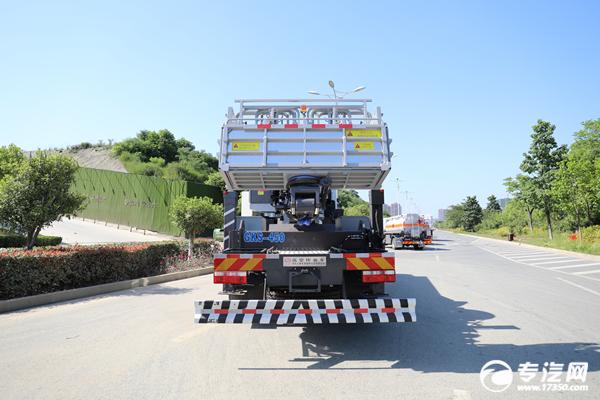 东风D9国六45米伸缩臂式高空作业车