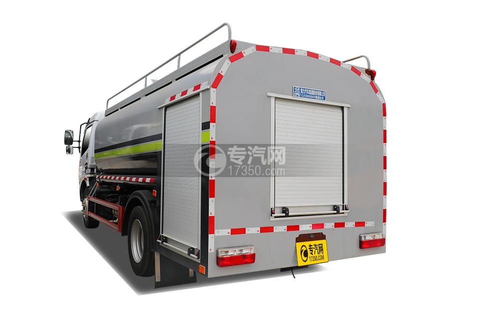 东风凯普特K7国六7方消防洒水车左后图
