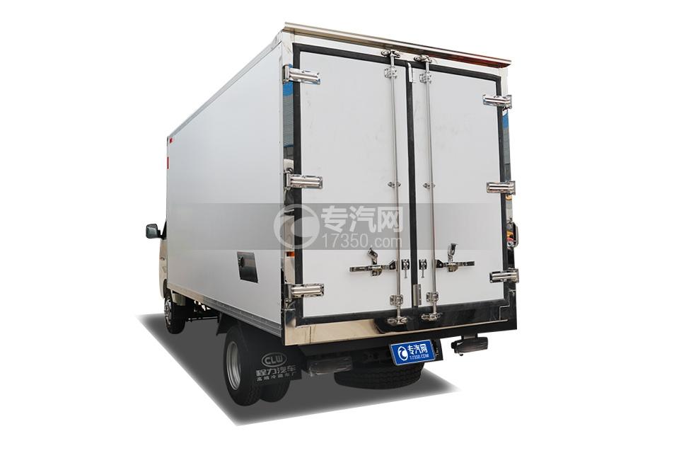 福田祥菱M2国六3.7米冷藏车左后图