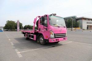 大運新奧普力國六一拖二藍牌清障車(粉紅色)圖片