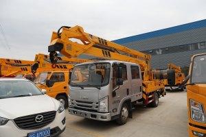 江西五十铃ELF双排EC5国六17.5米折叠臂式高空作业车图片
