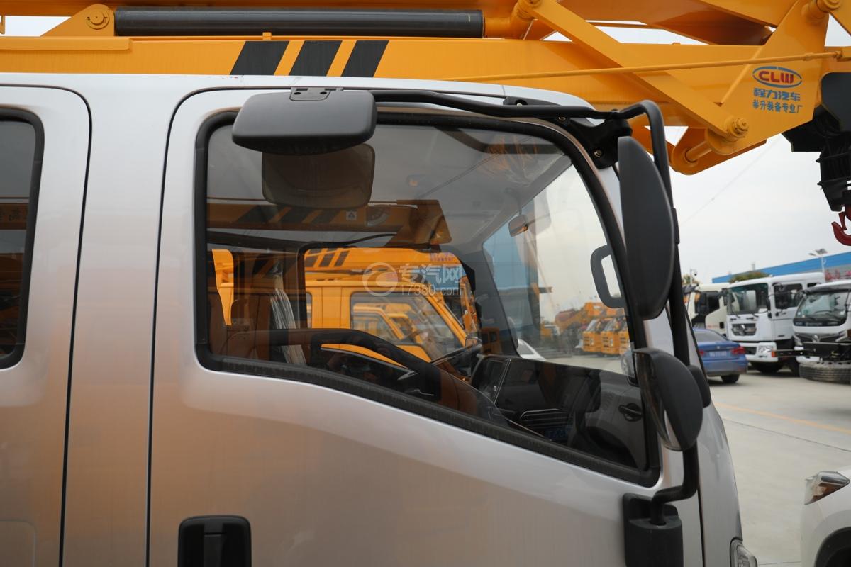 江西五十铃ELF双排EC5国六17.5米折叠臂式高空作业车地视镜