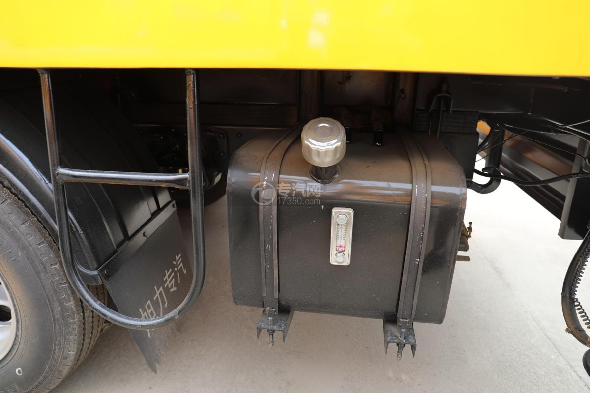 福田时代小卡之星3双排国六13.5米折叠臂式高空作业车液压油箱