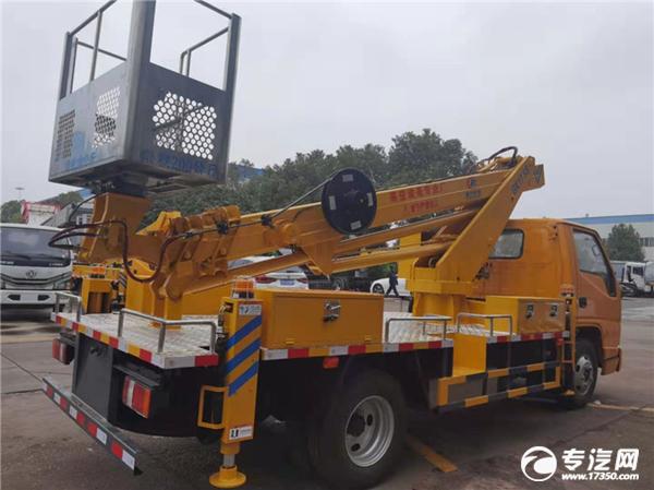 江铃顺达国六17.5米伸缩臂式高空作业车