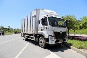 福田欧马可S5单桥国六铝合金畜禽运输车图片