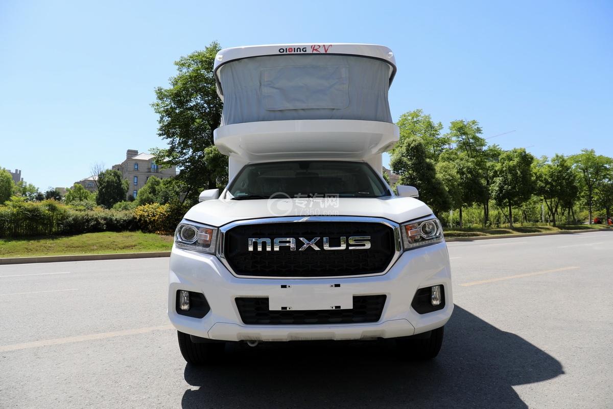 上汽大通maxus国六C型房车正前方位图