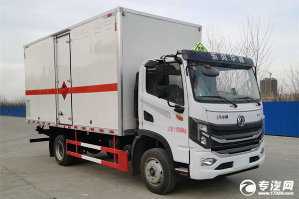 ?新款東風華神T3單排國六5.15米易燃液體廂式運輸車多少錢一輛?