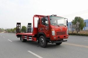 大運奧普力國六排半4500軸距平板運輸車圖片
