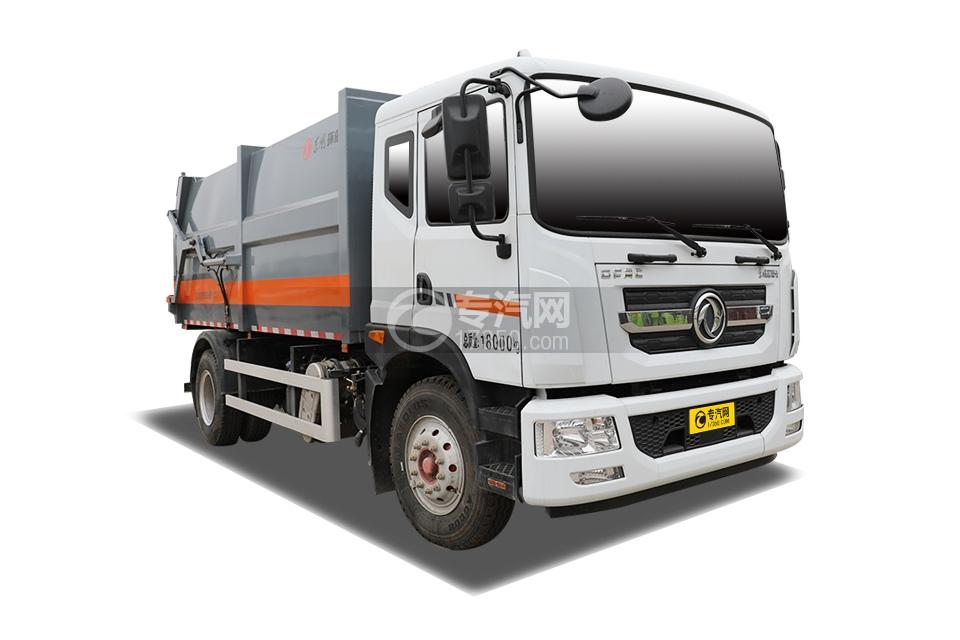 東風多利卡D9國六廂式垃圾車