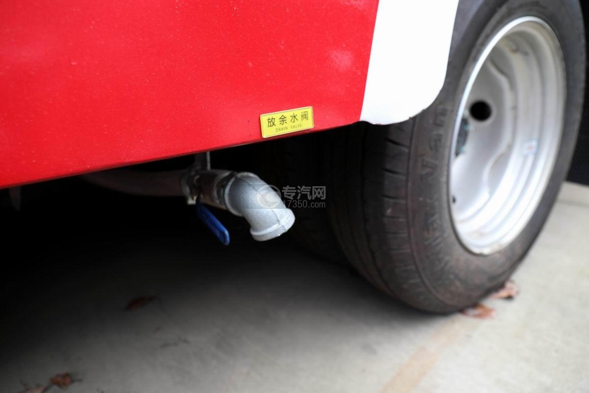 东风途逸双排国六水罐消防车轮胎
