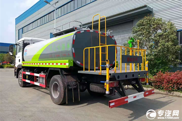 重汽汕德卡G5H国六10.8方绿化喷洒车