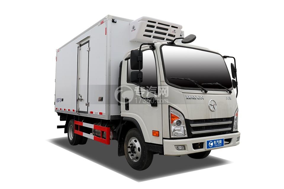 大運新奧普力國六4米冷藏車
