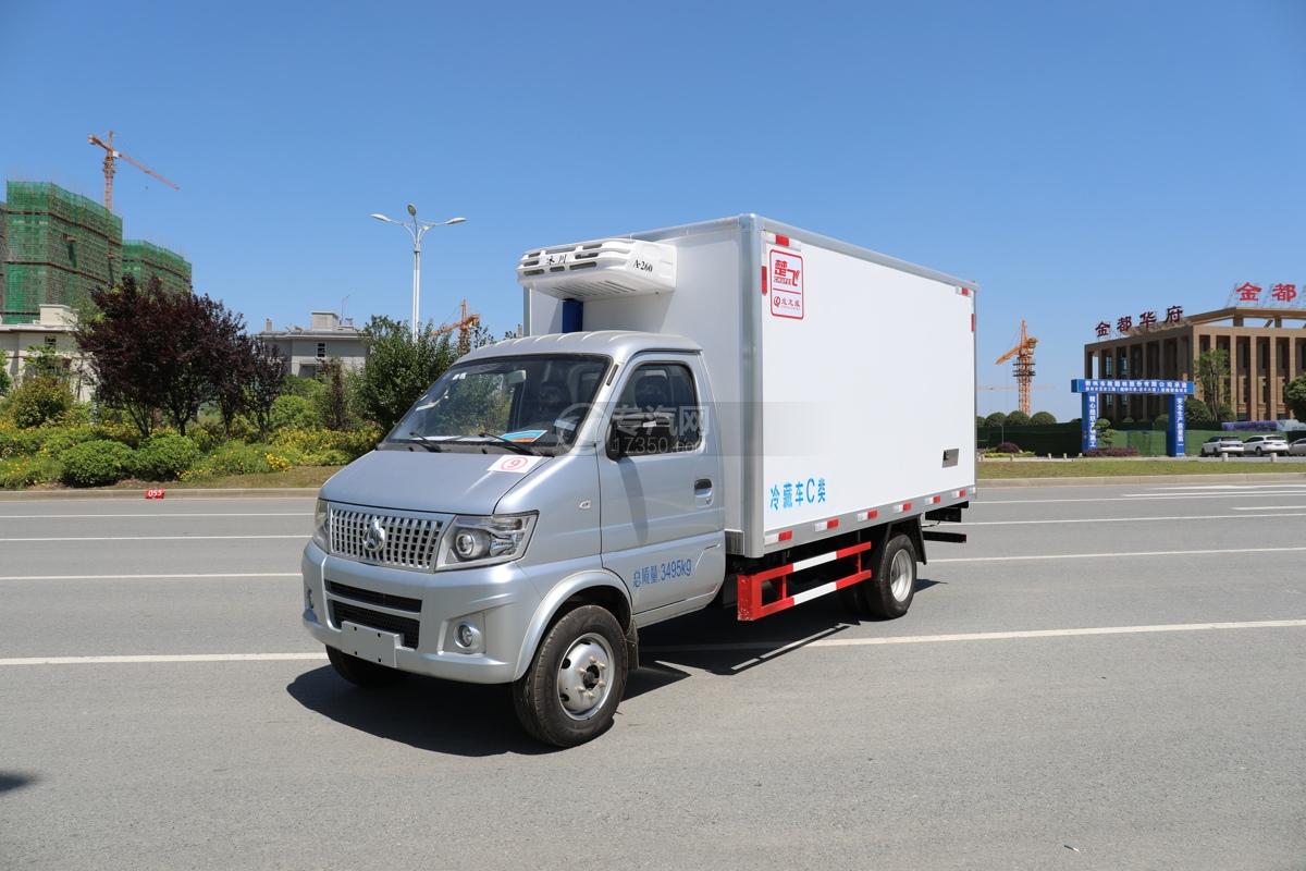 長安神騏T20國六3.2米冷藏車