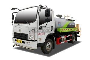 陜汽軒德X9國六4.1方綠化噴灑車