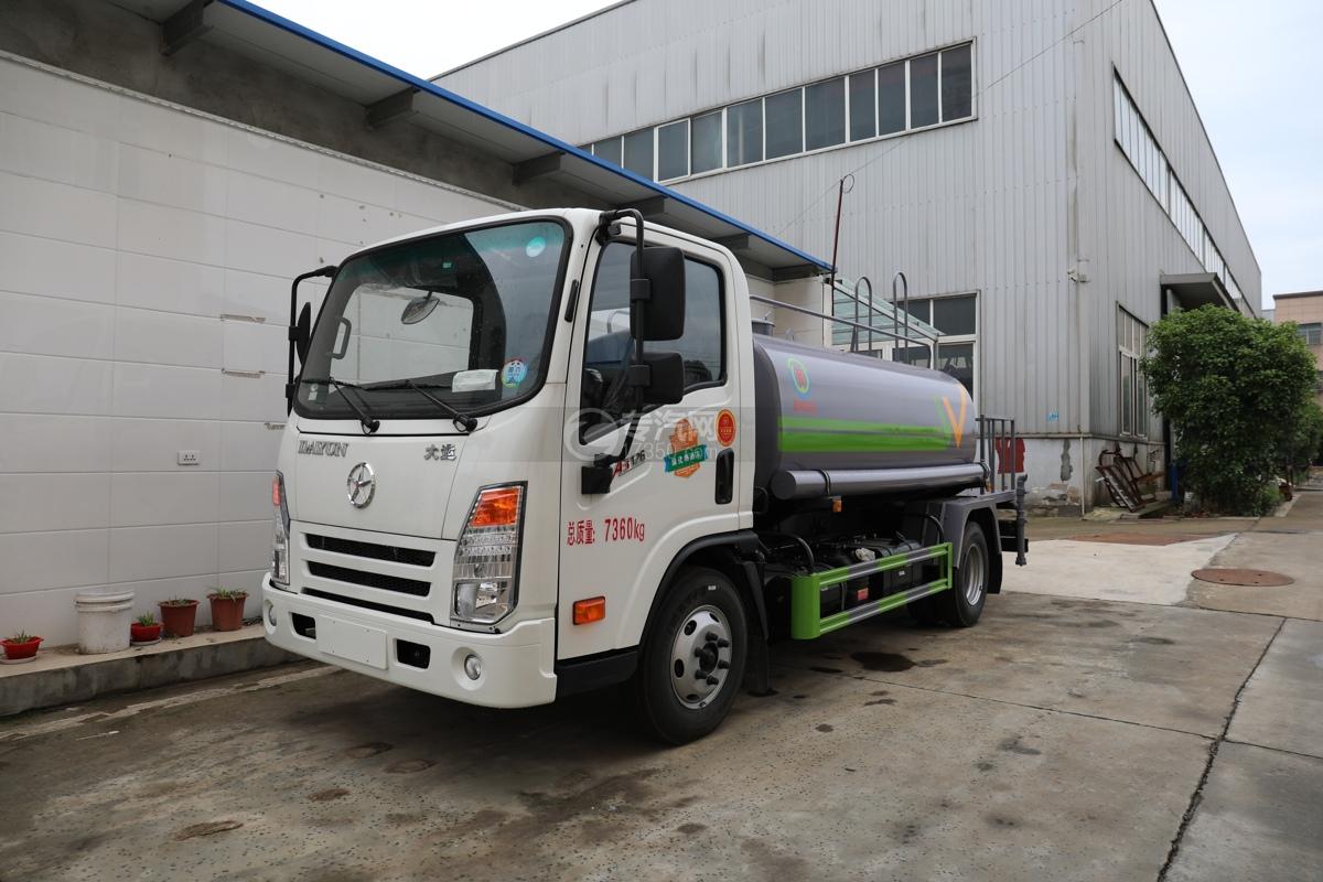 大運奧普力A3國六4.2方灑水車(旺龍)