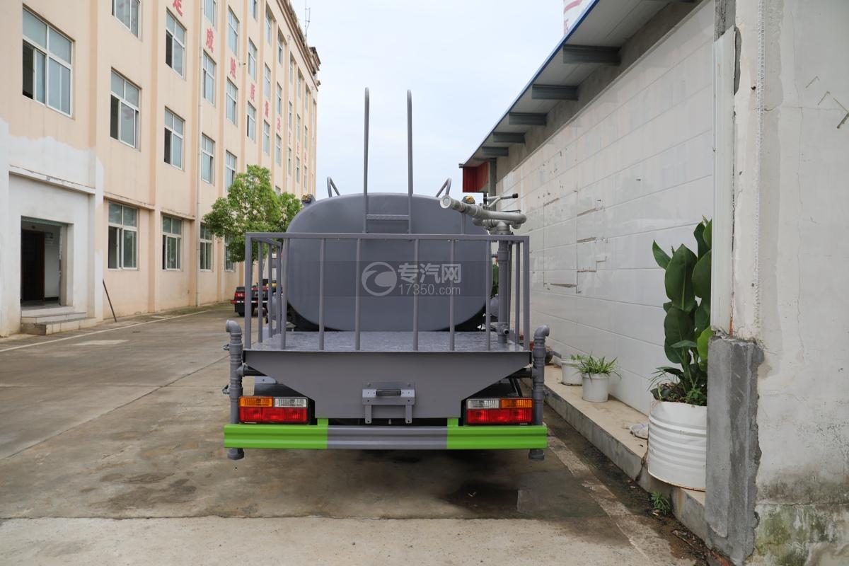 大运奥普力A3国六4.2方洒水车(旺龙)车尾图