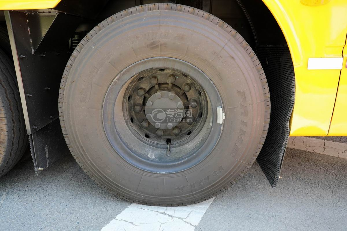 东风天龙VL后双桥国六移动电源车轮胎