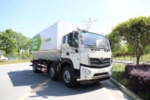 福田时代领航ES7排半国六散装饲料运输车图片