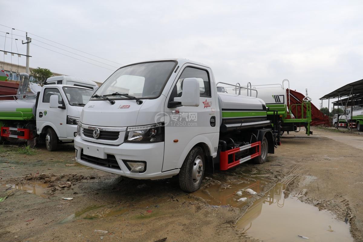 東風途逸國六2.06方綠化噴灑車