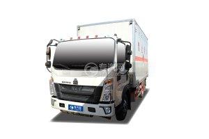 重气悍将国六4.15米易燃气体厢式运输车