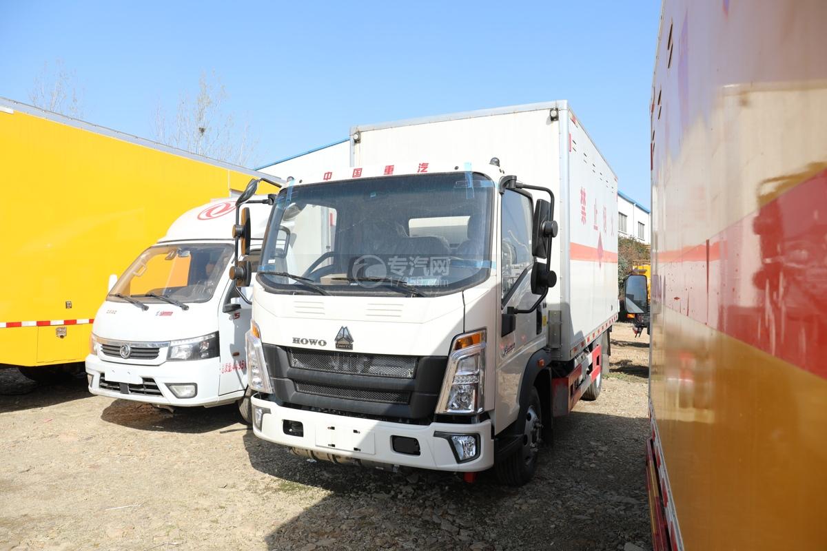 重氣悍將國六4.15米易燃氣體廂式運輸車