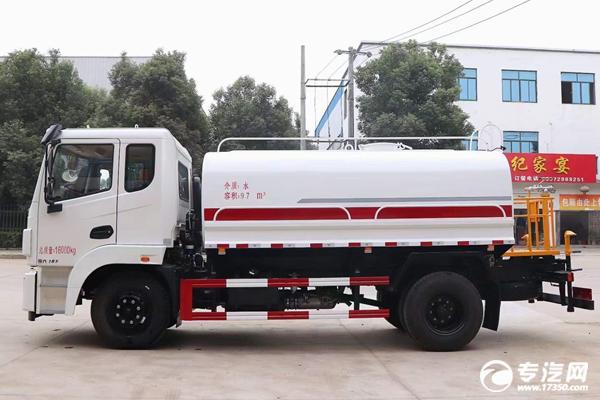 东风锦程V6国六12方洒水车