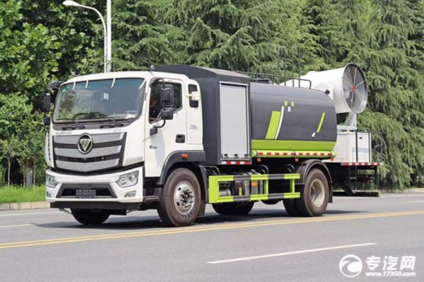 ?新一代福田歐航國六80米多功能抑塵車價格多少?